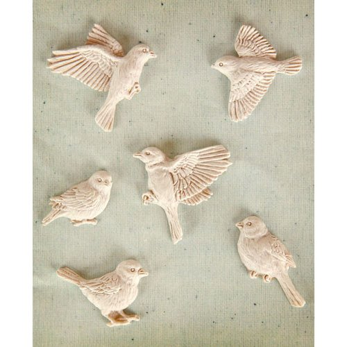 Prima - Resin Collection - Ingvild Bolme - Resin Embellishments - Fly Away