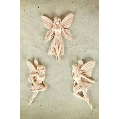 Prima - Resin Collection - Ingvild Bolme - Resin Embellishments - Fairies