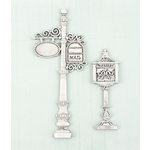 Prima - Shabby Chic Treasures Collection - Ingvild Bolme - Metal Embellishments - Mail Box