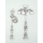 Prima - Shabby Chic Treasures Collection - Ingvild Bolme - Metal Embellishments - Victorian Lamp