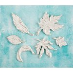 Prima - Shabby Chic Treasures - Ingvild Bolme - Resin Embellishments - Leaves