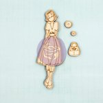 Prima - Julie Nutting - Wooden Doll - Naomi