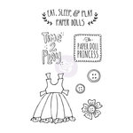 Prima - Julie Nutting - Cling Mounted Stamps - Play Time