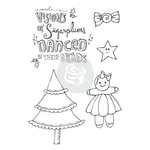 Prima - Julie Nutting - Cling Mounted Stamps - Sugar Plums