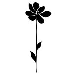 Prima - Donna Downey Collection - Foam Stamps - Large Flower Stem