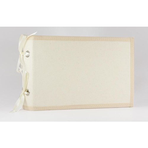 Prima - Donna Downey Collection - Fabric Canvas Album - 4 x 6