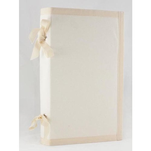 Prima - Donna Downey Collection - Fabric Canvas Album - 6 x 12