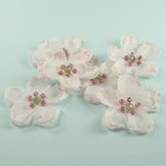 Prima - Elle Collection - Donna Downey - Flower Embellishments - Light Pink