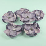 Prima - Elle Collection - Donna Downey - Flower Embellishments - Purple