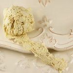 Prima - Cabachon Collection - Donna Downey - Lace - Natural - 30 Yards