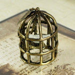 Prima - Vintage Trinkets Collection - Metal Embellishments - Bird Cage
