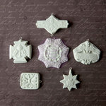 Prima - Archival Cast Collection - Relics and Artifacts - Plaster Embellishments - Medallions