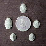 Prima - Archival Cast Collection - Relics and Artifacts - Plaster Embellishments - Cameos