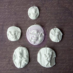 Prima - Archival Cast Collection - Relics and Artifacts - Plaster Embellishments - Intaglions