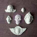 Prima - Archival Cast Collection - Relics and Artifacts - Plaster Embellishments - Archangels
