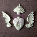 Prima - Archival Cast Collection - Relics and Artifacts - Plaster Embellishments - Rising Spirit II