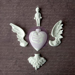 Prima - Archival Cast Collection - Relics and Artifacts - Plaster Embellishments - Rising Spirit III