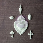 Prima - Archival Cast Collection - Relics and Artifacts - Plaster Embellishments - Spirit Treasures