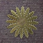 Prima - Relics and Artifacts - Dresden Trim - Gold Rosette