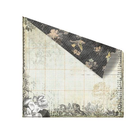 Prima - Nature Garden Collection - 12 x 12 Double Sided Paper - Primrose