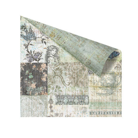 Prima - Nature Garden Collection - 12 x 12 Double Sided Paper - Fairy Godmother