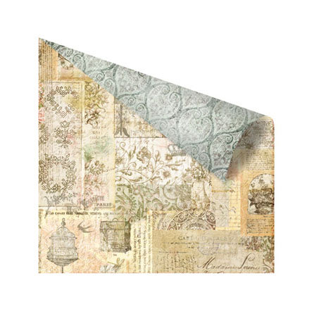 Prima - Nature Garden Collection - 12 x 12 Double Sided Paper - Midsummer's Eve