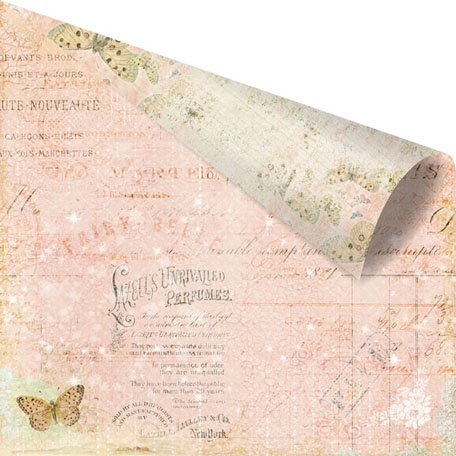 Prima - Fairy Belle Collection - 12 x 12 Double Sided Paper - La Spa