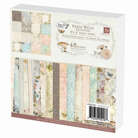 Prima - Fairy Belle Collection - 6 x 6 Paper Pad