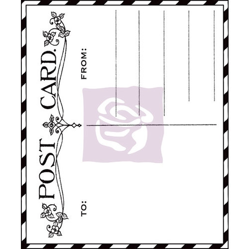 Prima - Fairy Rhymes Collection - Clear Acrylic Stamps - Fairy Rhymes - Two