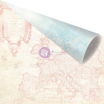 Prima - Delight Collection - 12 x 12 Double Sided Paper - Destinations