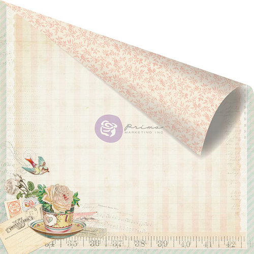Prima - Delight Collection - 12 x 12 Double Sided Paper - Delicious