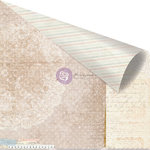 Prima - Delight Collection - 12 x 12 Double Sided Paper - Doilie