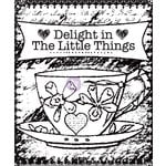Prima - Delight Collection - Clear Acrylic Stamps - Two