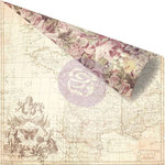 Prima - Butterfly Collection - 12 x 12 Double Sided Paper - French Roses