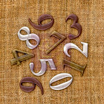 Prima - Sunrise Sunset Collection - Mechanicals - Vintage Trinkets - Metal Embellishments - Numbers