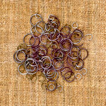Prima - Sunrise Sunset Collection - Mechanicals - Vintage Trinkets - Metal Embellishments - Jump Rings
