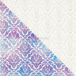 Prima - Finnabair Elementals - 12 x 12 Canvas Resist Sheet - White 3