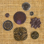 Prima - Finnabair Mechanicals - Vintage Trinkets - Washers