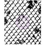 Prima - Finnabair - Clear Acrylic Stamps - Wire Net
