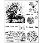 Prima - Cling Mounted Stamps - Dream On