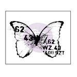 Prima - Finnabair - Wood Mounted Stamps - Butterfly 3