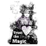 Prima - Finnabair - Wood Mounted Stamps - Trust The Magic