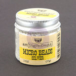 Prima - Finnabair - Art Ingredients - Micro Beads - Silver