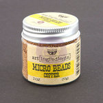 Prima - Finnabair - Art Ingredients - Micro Beads - Copper