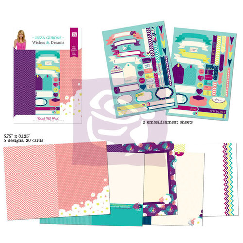 Prima - Wishful Thinking Collection - Card Kit Pad