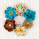 Prima - Wishes and Dreams Collection - Flower Embellishments - Roses