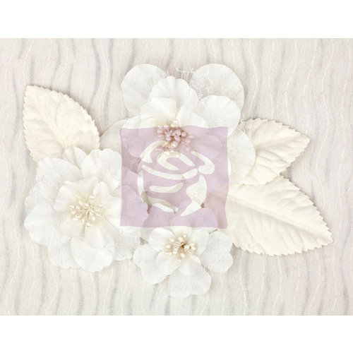 Prima - Wishes and Dreams Collection - Flower Embellishments - Large Flowers