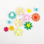 Prima - Bloom Collection - Metal Embellishments - Flowers