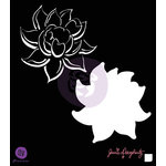 Prima - Bloom Collection - 6 x 6 Stencil - Lotus
