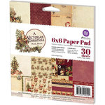 Prima - A Victorian Christmas Collection - 6 x 6 Paper Pad